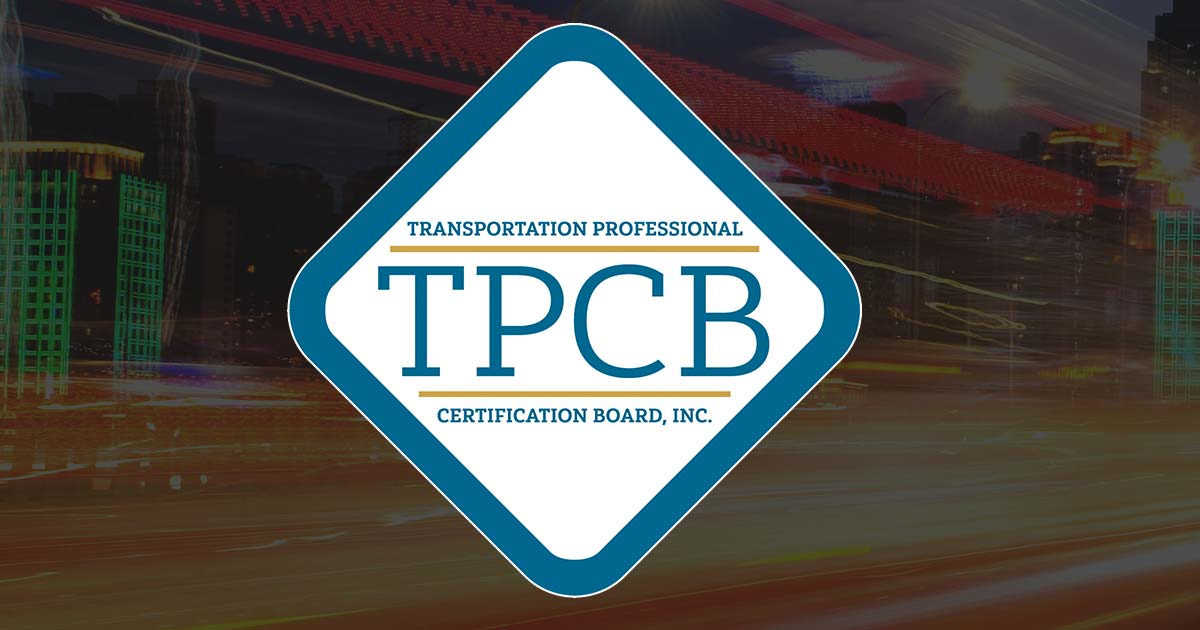 Reference Material Transportation Professional Certification Board
